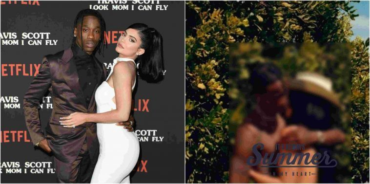 Kylie Jenner poses nude for Playboy with boyfriend Travis