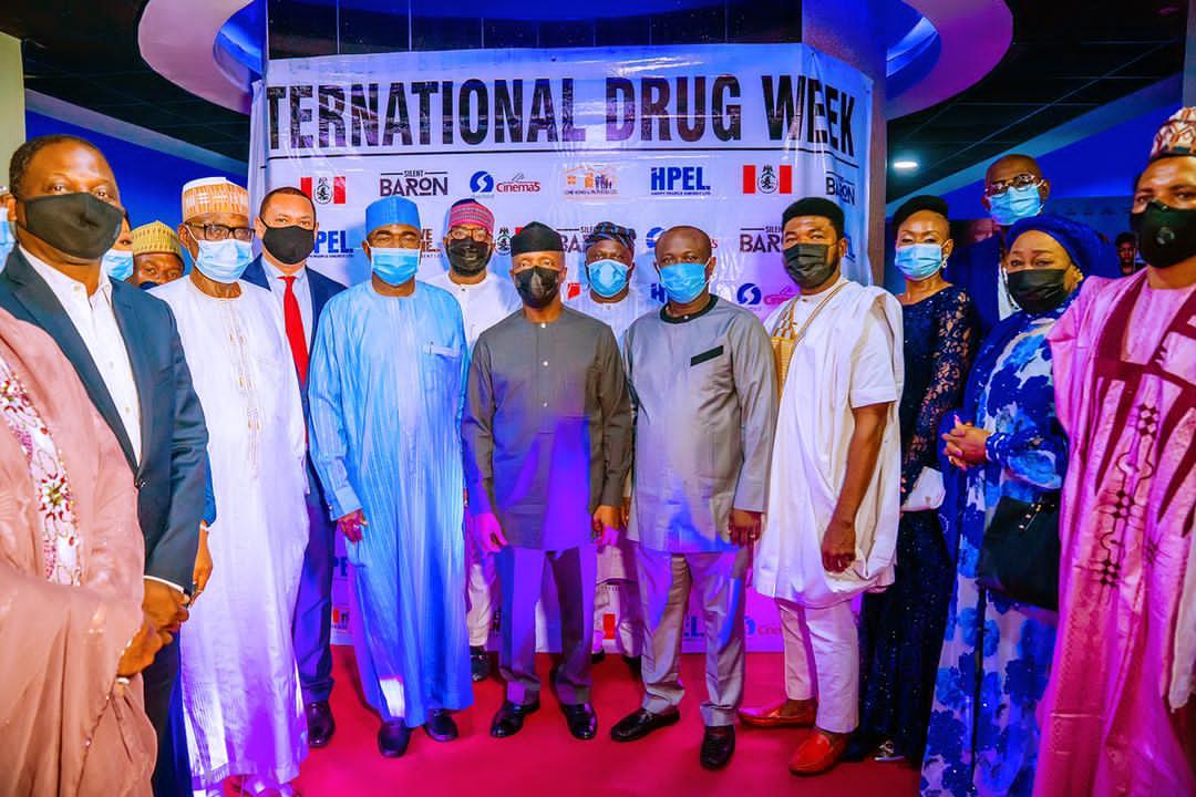 Osinbajo Attends Premiere Of Nollywood Movie