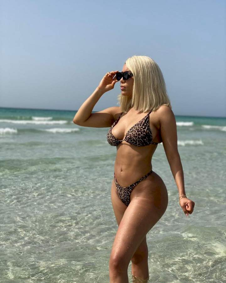 BBNaija: See Sexy Bikini Photos Of Maria